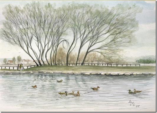 01 Poole Park Lake