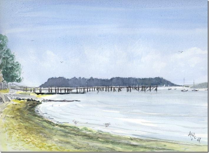 Hamworthy Shoreline, Poole, Dorset