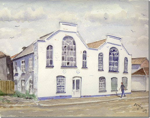 Dorset Foundry - Water colour by Alec Wills