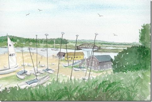 Rockley Sands by Alec Wills